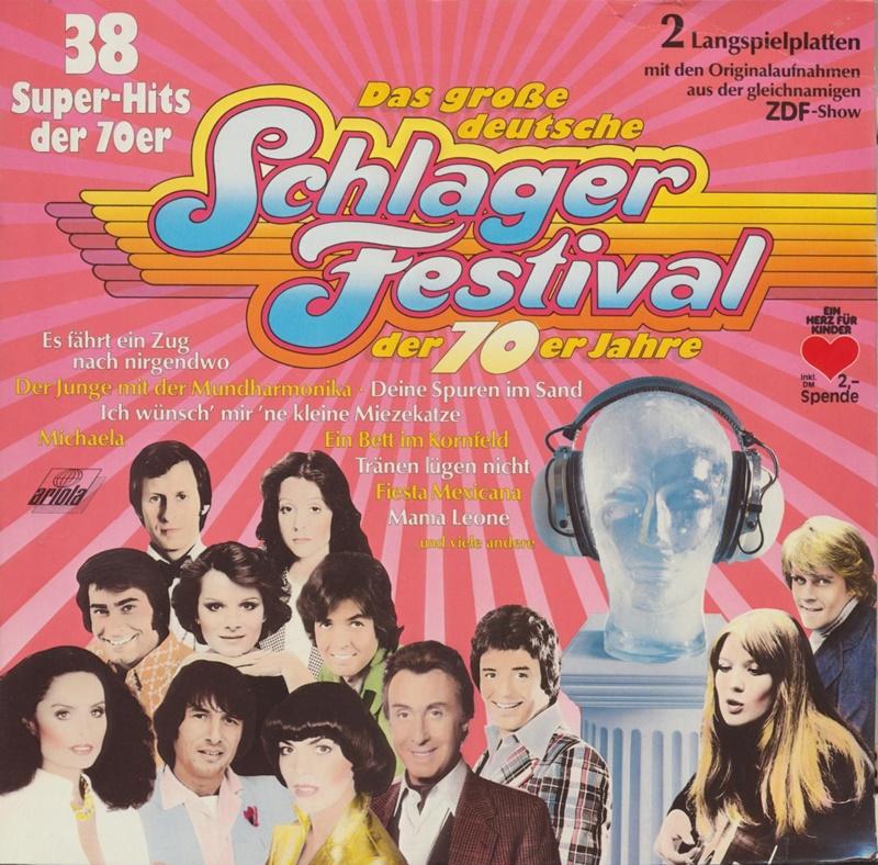 Das Große Deutsche Schlager Festival Der 70er Jahre Dutchcharts Nl