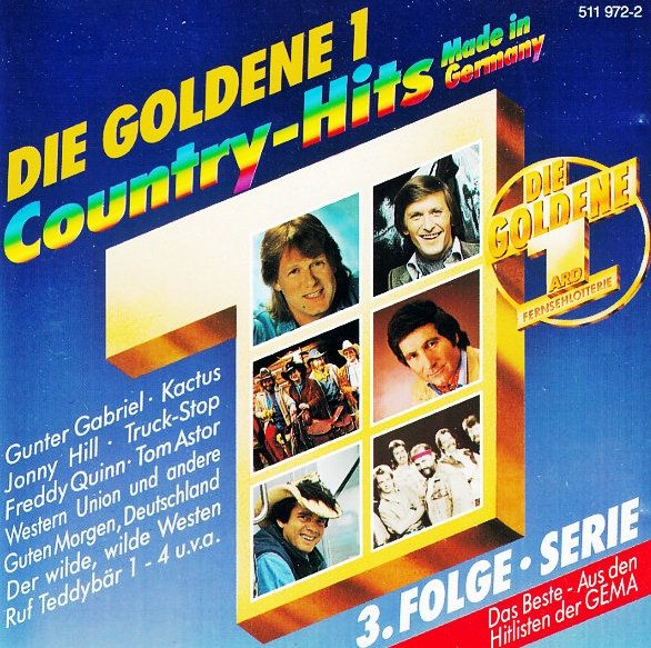 Die Goldene 1 Country Hits Made In Germany Hitparadech