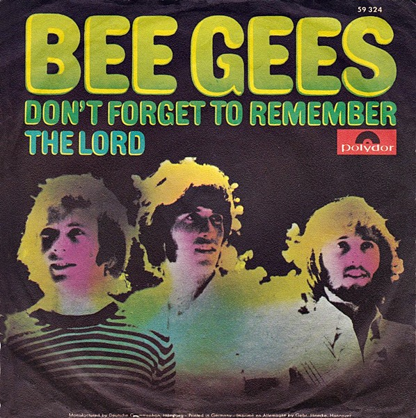 Image result for don't forget to remember bee gees single images