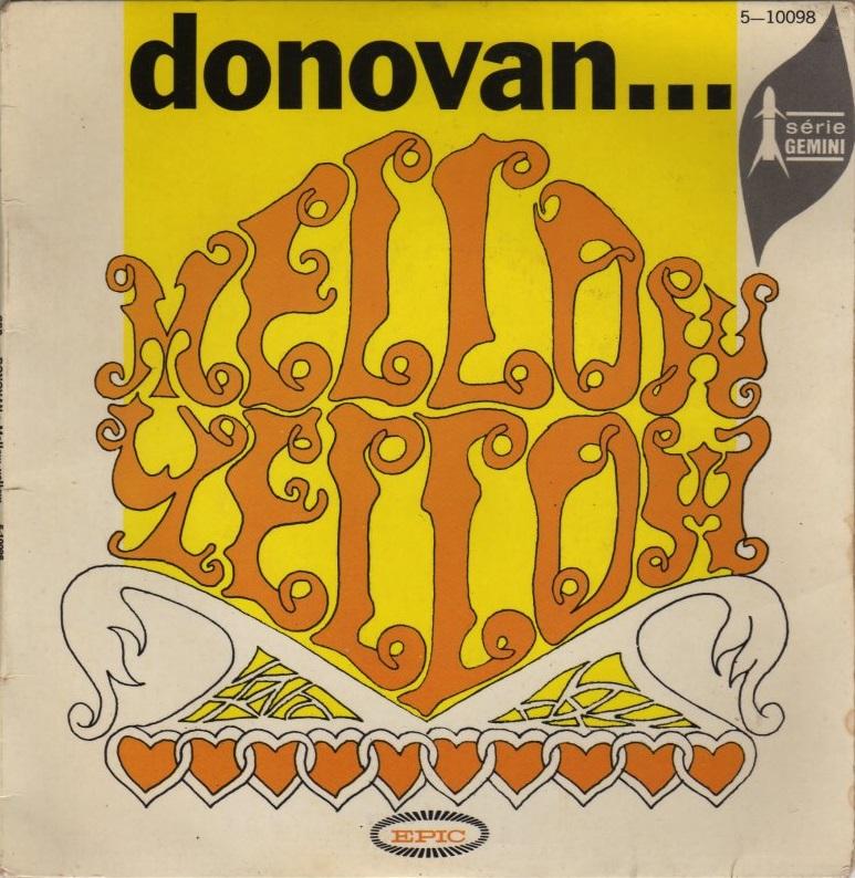Donovan - Mellow Yellow - dutchcharts.nl