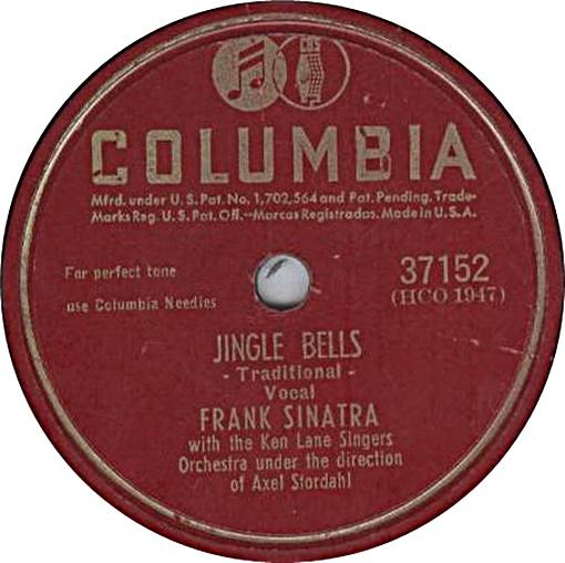 Frank Sinatra Weihnachtslieder.Frank Sinatra Jingle Bells Hitparade Ch
