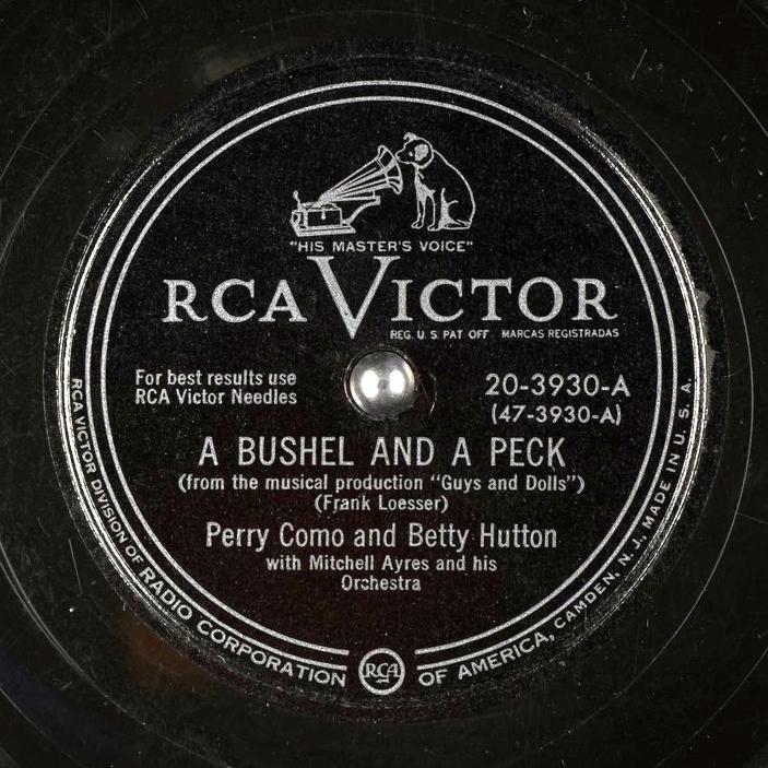Perry Como & Betty Hutton - A Bushel And A Peck - hitparade.ch