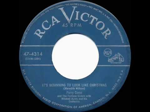 Perry Como & The Fontane Sisters - It's