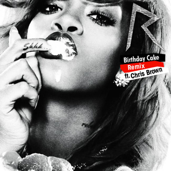 Terrific Rihanna Feat Chris Brown Birthday Cake Dutchcharts Nl Birthday Cards Printable Opercafe Filternl