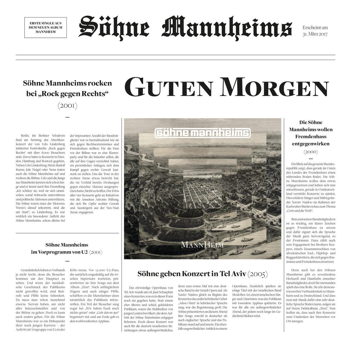 Söhne Mannheims Guten Morgen Hitparadech