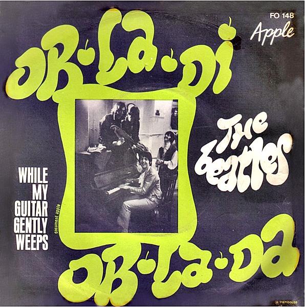 Bildresultat för record covers to the single ob-la-di, ob-la-da with the beatles